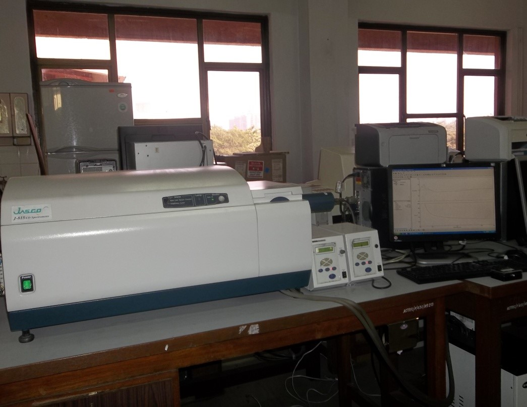 Jasco J-815 Circular Dichroism Spectropolarimeter